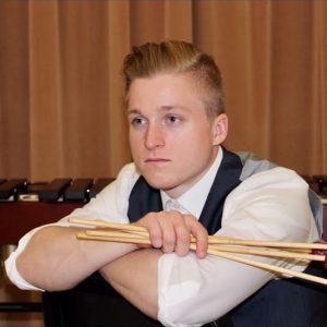 Logan Fox, Percussionist