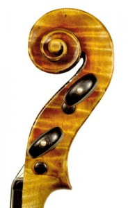 Vieuxtemps Stradivari Head