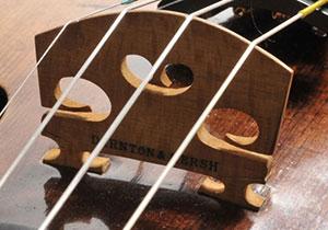 Darnton & Hersh violin bridge